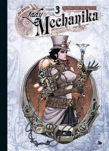Lady Mechanika 3: Ztracenci z West Abbey (standardní obálka)